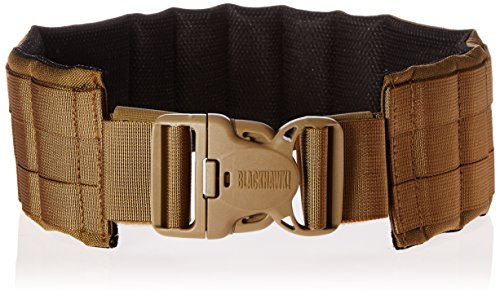 BLACKHAWK! Padded Patrol Belt and Pad - Coyote Tan, Small ()