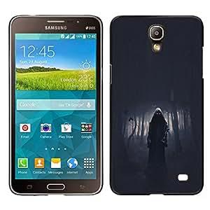 EJOY---Cubierta de la caja de protección para la piel dura ** Samsung Galaxy Mega 2 ** --Muerte Bosque Death Metal Oscuro