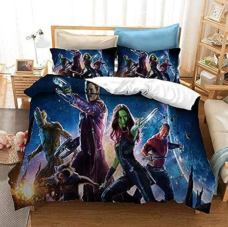 Guardians of The Galaxy Duvet Cover Set Bedding Set 3 Pieces