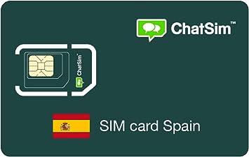 Tarjeta SIM internacional para viajes a ESPAÑA y en todo el mundo – ChatSim – cobertura 165 Países, roaming global – red multioperador GSM/2G/3G/4G, sin costes fijos: Amazon.es: Electrónica