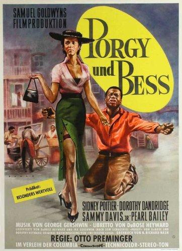 - Porgy and Bess Poster Movie German 11x17 Sidney Poitier Dorothy Dandridge Sammy Davis Jr. MasterPoster Print, 11x17