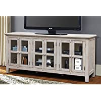 Vilo Home VH9806 Milos 70 TV Stand, Antique White
