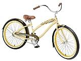 : Nirve Lahaina Women's Single-Speed Cruiser Bike (Cocoa Butter)