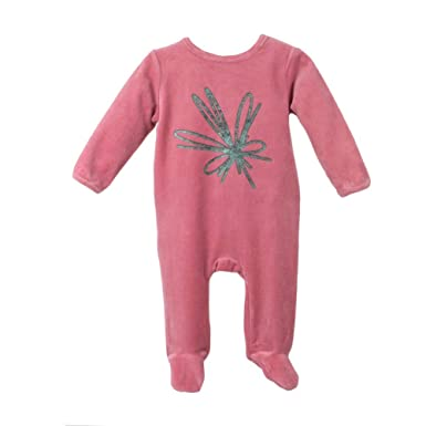 215ef3d9db4 Baby Clothes Bow Design Sleep N Play Footie Coverall Romper Boy Girl Unisex  Long Sleeve (
