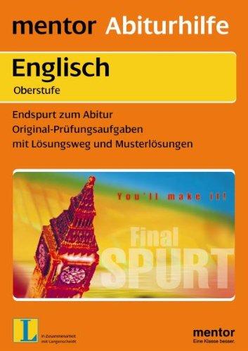 Endspurt zum Abitur. Englisch