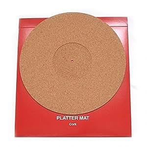 Amazon Com Thorens Turntable Platter Mat In Cork Home