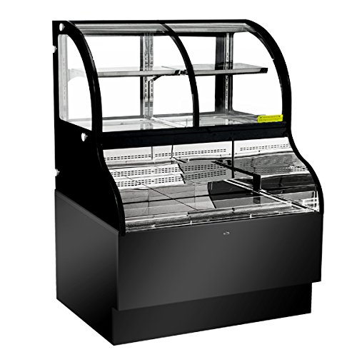 Refrigerated Open Display Merchandiser (43550 REFRIGERATED SHOWCASES Dual Service Open Refrigerated Floor Display Case - 48