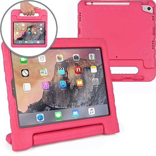 Cooper Dynamo [Rugged Kids Case] Protective Case for iPad Pro 11-inch | Child Proof Cover: Stand, Handle, Pencil Grove | A1980 A2013 A1934 (Pink)