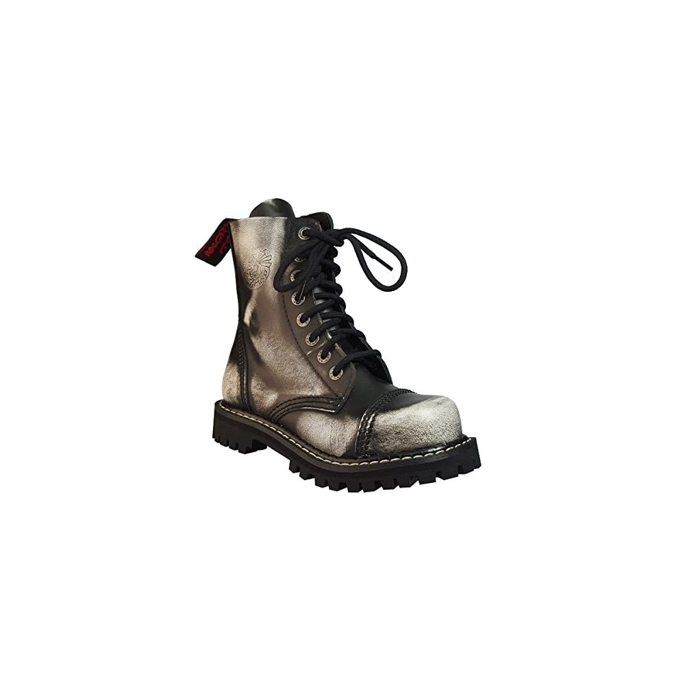 Angry Itch 10 Loch schwarz Kampf Leder Armee Ranger Stiefel