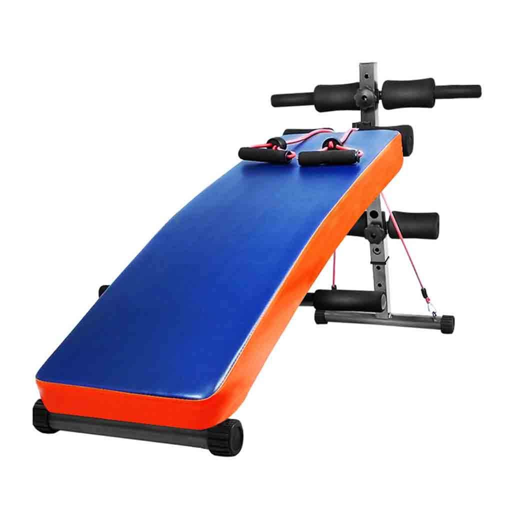 Schwerkrafttrainer Fitnessgeräte Home Sit-Up Board Zugseil Bauch Übung helfen Multifunktions-Bauch