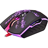 Bloody Gaming A60 Optical Gaming Mouse with Advanced Weapon Tuning & Macro Setting - LK Light Strike Switches