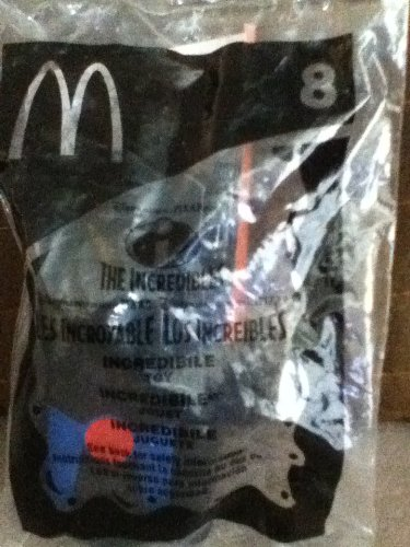 McDonald's Happy Meal Toys The Incredibles~Incredibile (2 Happy Meal Toy)