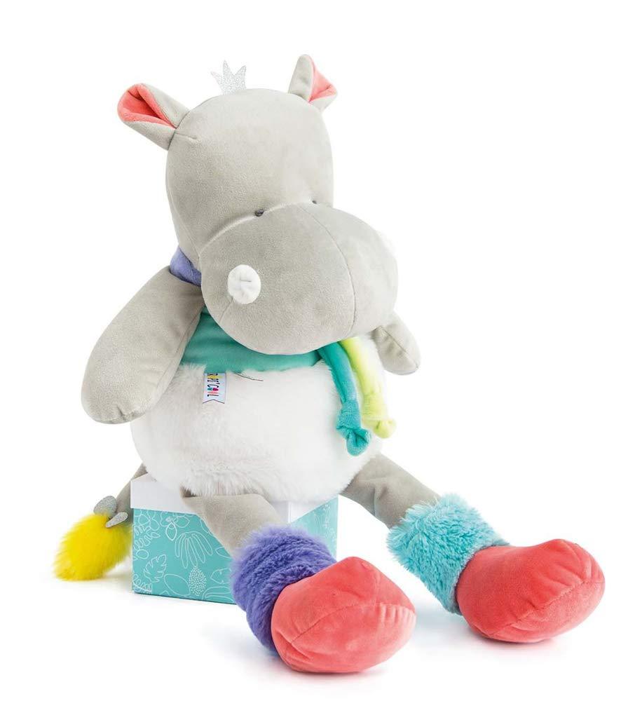 Doudou et Compagnie peluche Hippo 80 cm, talla XXL