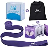 Ballet band | Premium Exercise Ballet Stretch Band | Multipurpose Elastic Loop For Increased Flexibility, Stretching and Fitness Workouts + Beginner's Guide Booklet and Waterproof Travel Bag