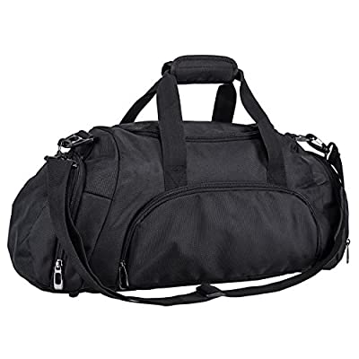 caee8295f2a8 best Gym Bag Duffel Bag for Women and Men with Shoes Compartment ...