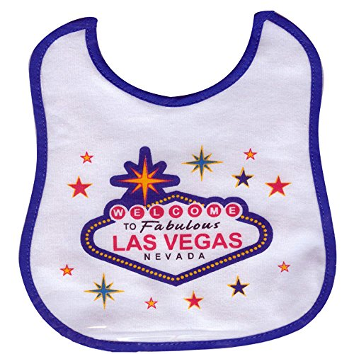 - Welcome To Las Vegas Adorable Onesie Baby Body Suit Package it Comes in White and Pink (24 Months, Bib)