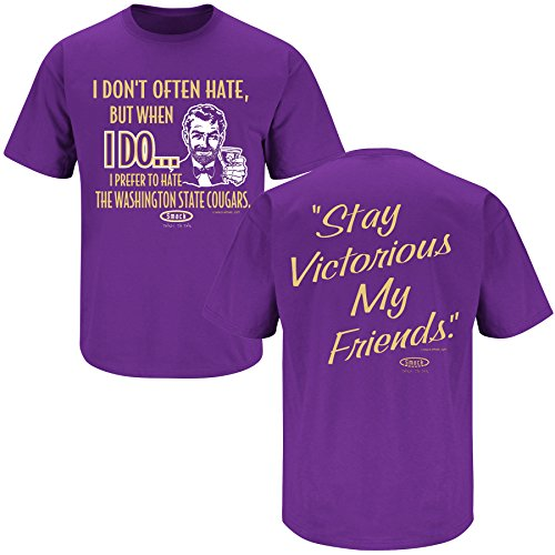 Washington Football Fans. Stay Victorious (Anti-Cougars) T-Shirt (Sm-5X) ()