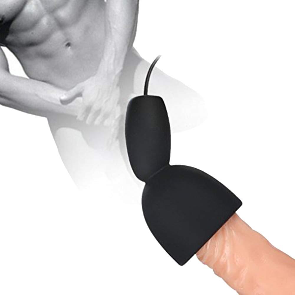 dulexo Vibromasseur Massager Masturbateur le pénis Tête érection Fonction la formation, fonction Tête de pénis Appareil de massage pour härtere longs et erektionen Stimulation Version de mise à niveau