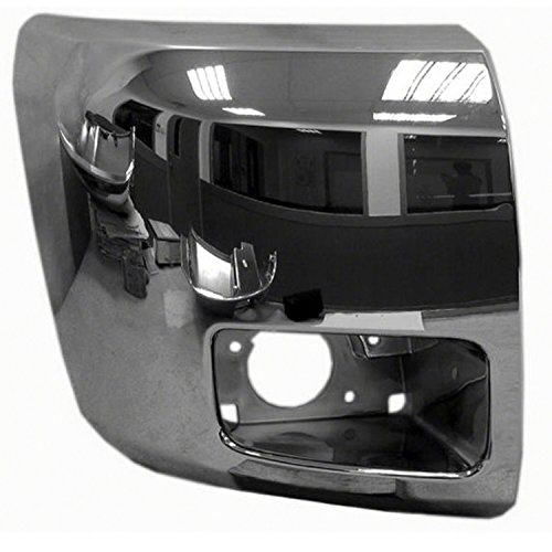 Chrome Front Bumper Extension Outer for 12-13 ()