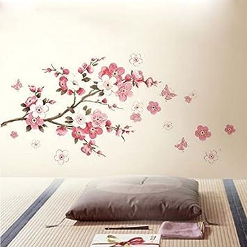 Amazon Auntwhale Large Pink Sakura Flower Cherry Blossom Tree