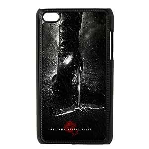 Gatúbela el caballero oscuro película iPod Touch 4 negro diseños exquisitos funda KM546HH1