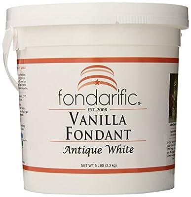 Fondarific Vanilla Antique White Fondant, 5-Pounds