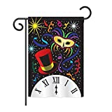 New Year Midnight Decorative Banner