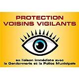 Voisins Vigilants - 500 x 350 mm, Adhésif ( Sticker )