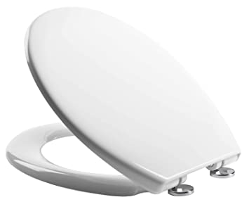 Stupendous Soft Close Quick Release Toilet Seat White Heavy Duty Dual Fixing System By Mass Dynamic Frankydiablos Diy Chair Ideas Frankydiabloscom