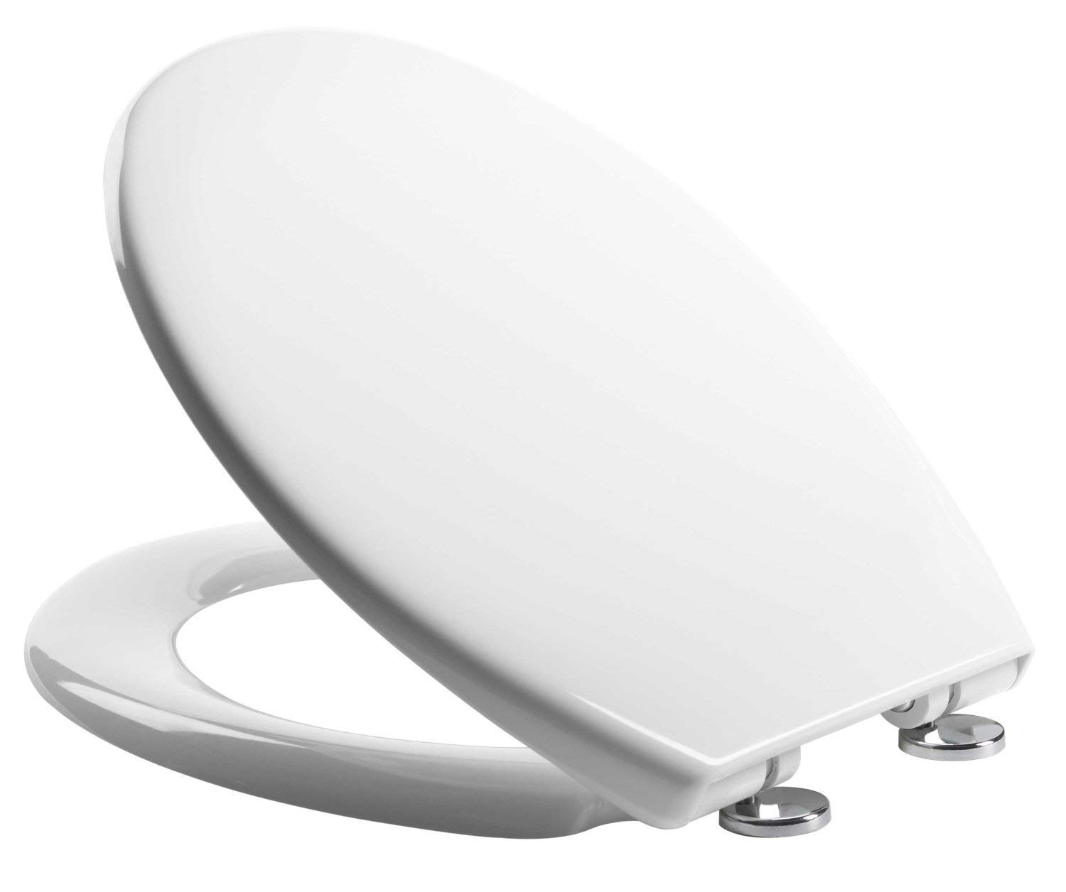 Soft Close Quick Release Toilet Seat White Heavy Duty Dual