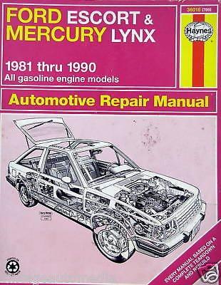 1981-1990 Haynes Repair Manual-Ford Escort/Mercury Lynx