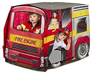 ... Tents u0026 Tunnels  sc 1 st  Amazon.com & Amazon.com: Playhut Fire Engine Vehicle: Toys u0026 Games