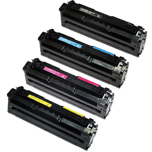 TonerBoss SAMCL506S4 Remanufactured Samsung 506 Toner Cartridges for CLP-680DW, CLX-6260FD (Pack of 4)