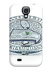 Premium Protection Seattleeahawks Case Cover For Galaxy S4- Retail Packaging by mcsharks