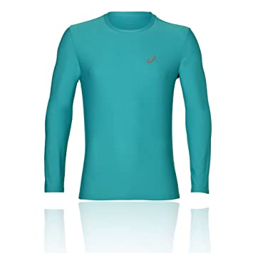 ASICS LS Top Camisetas, Unisex Adulto, Lake Blue, XL
