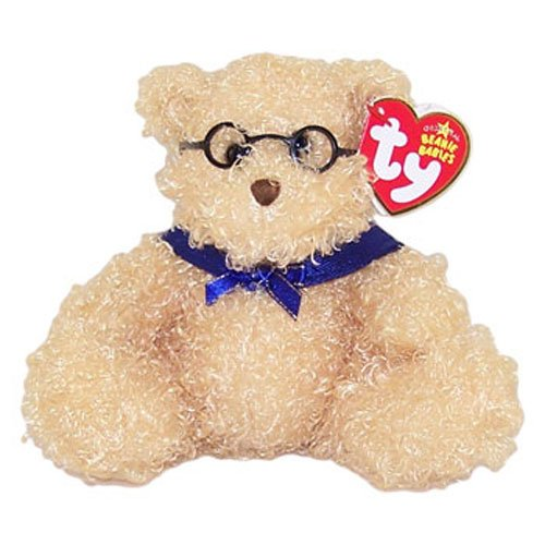 TY Beanie Baby - HONORS the Graduation Bear (No Hat Version) (7 inch)