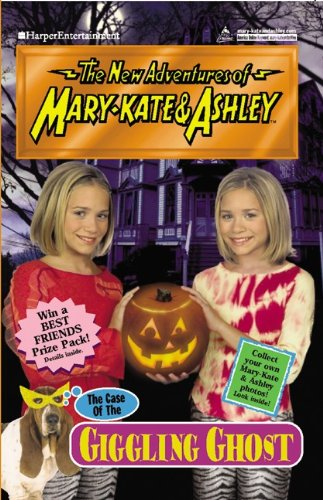 The Case Of The Giggling Ghost (Turtleback School & Library Binding Edition) (New Adventures of Mary-Kate & Ashley (Pb)) -