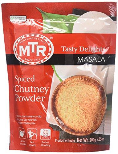 MTR Instant Spiced Chutney Powder, 7.04-Ounce Unit ()
