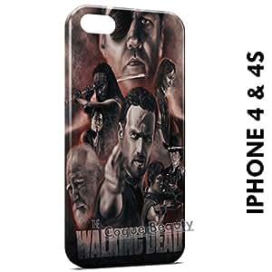 Carcasa Funda iPhone 4/4S The Walking Dead 6 Protectora Case Cover