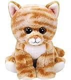 Ty Beanie Cleo 42305–Cat Tiger Baby Plush Soft Toy–15cm
