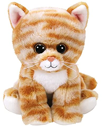 62127bdc4a7 Image Unavailable. Image not available for. Color  Ty Beanie Cleo 42305 –  Cat Tiger Baby Plush Soft Toy ...