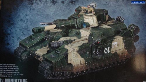 Games Workshop Warhammer 40k Imperial Guard Baneblade