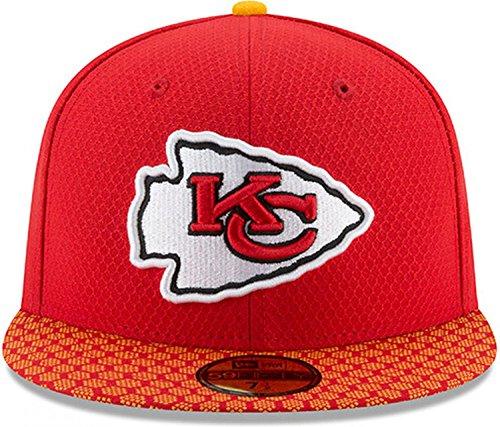 d3aed71c9 New Era 59Fifty Cap - NFL SIDELINE 2017 Kansas City Chiefs - Sports ...