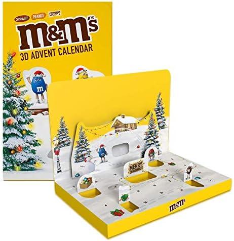 M&M's Calendrier de l'Avent 346 g: Amazon.fr: Epicerie