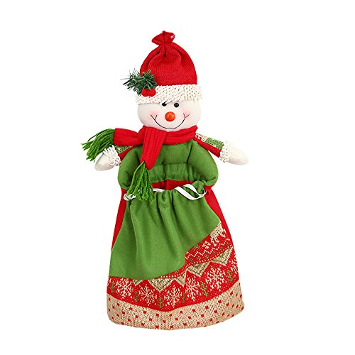 2017 Year Christmas Decorations Claus Snowman Elk Candy Packaging Gifts Decoration - Decorations Home