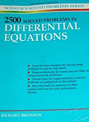 2500 Solved Problems in Differential Equations