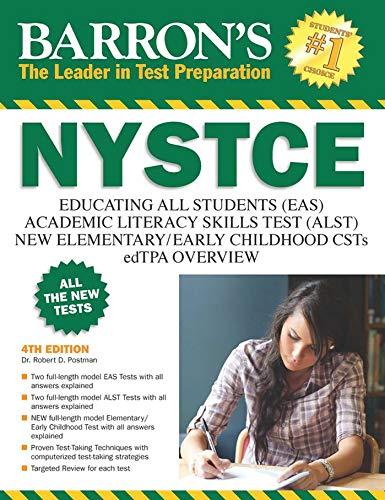 Barron's NYSTCE: EAS / ALST / CSTs / edTPA (Barron's Test Prep NY) (New York State Test Prep Grade 7)