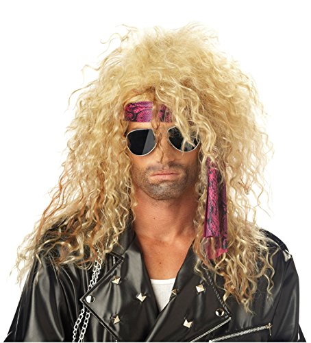 80s Rocker Wig Costume 3 Styles 1 80s Punk Rock Star Costume Wig For Guys Girls Kid