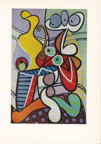 """1955 Vintage """"STILL LIFE on a TABLE"""" by PICASSO Color, used for sale  Delivered anywhere in USA"""