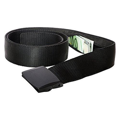 zero-grid-travel-security-belt-hidden-money-pouch-non-metal-buckle-black